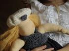 Bambola Steineriana con cappellino