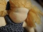 capelli biondi bambola waldorf