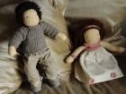 coppia bambole waldorf