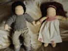 coppia bambole steineriane