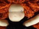 capelli rossi bambola waldorf