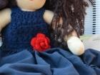 vestito bambola fatto a mano