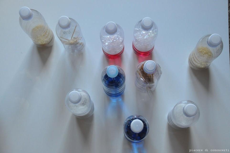 Bottiglie Montessoriane