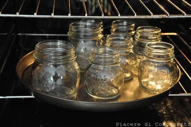 sterilizzare i vasetti conserve