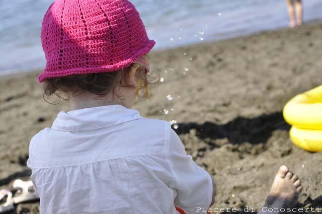 bambini al mare