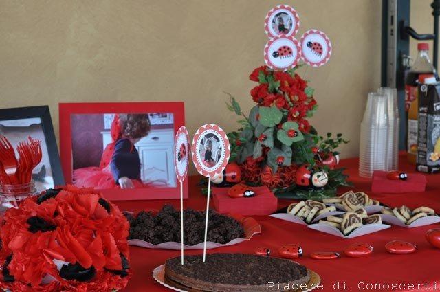 festa tema coccinella