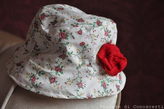 cappello bimbi cucito