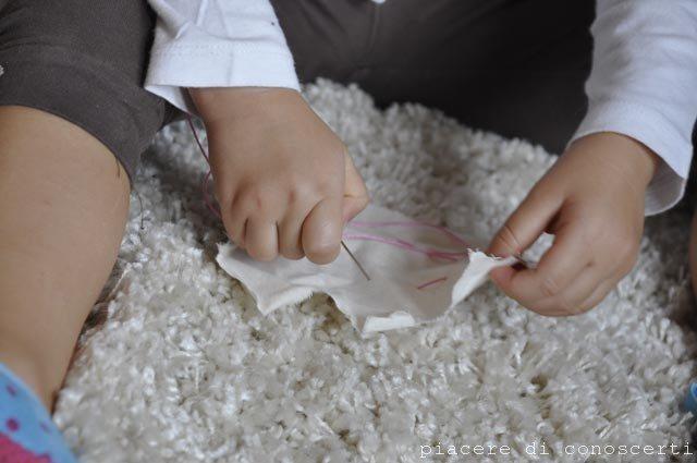 bambini cucire