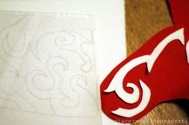 calza befana craft