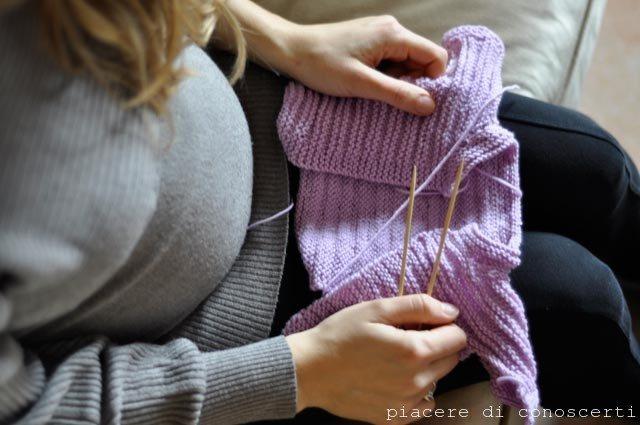 gravidanza lavoro a maglia