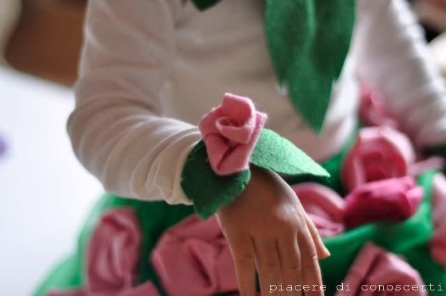 maschera carnevale fiore