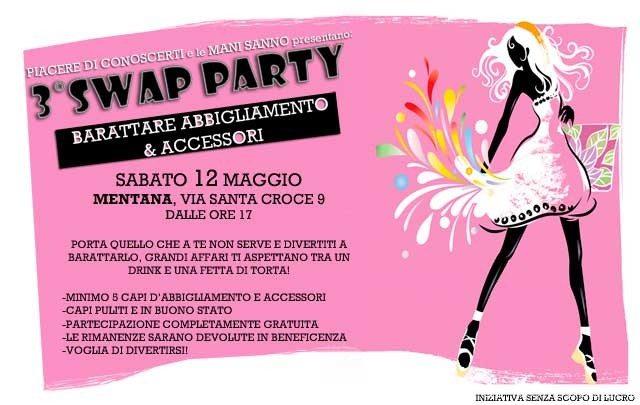 swap party estivo