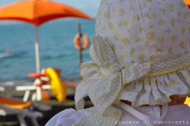 bimba al mare