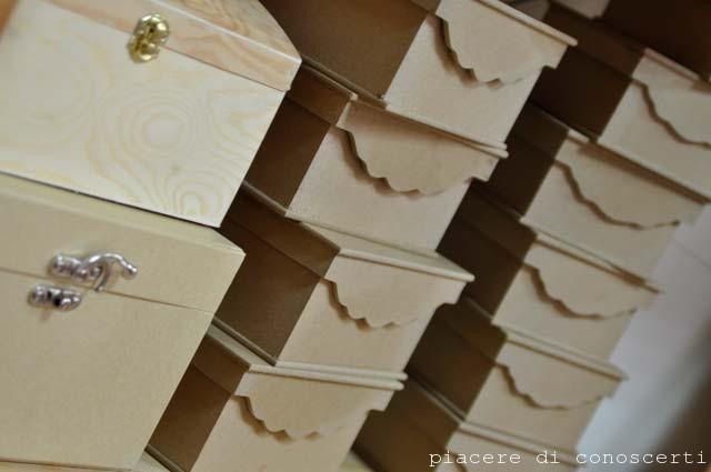 scatole legno