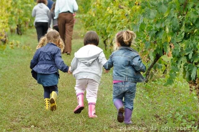 bambini in campagna