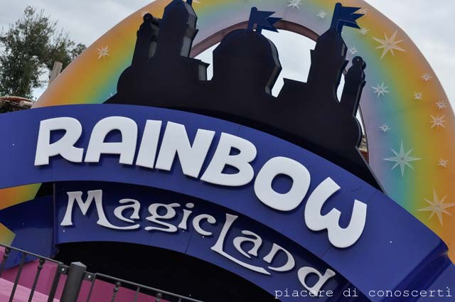 parco divertimenti roma valmontone rainbow magic land