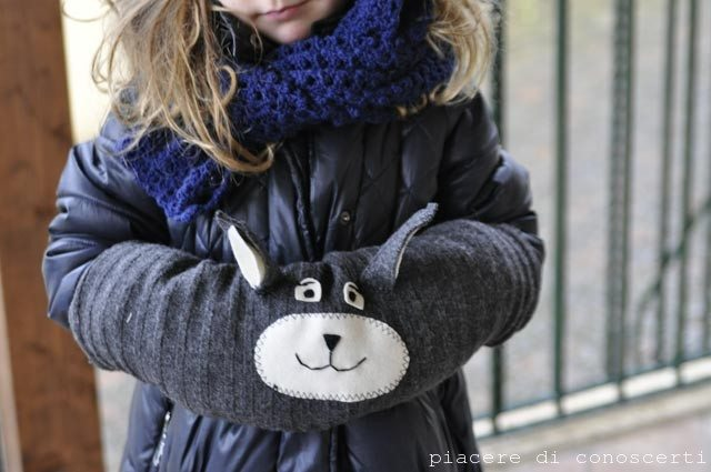 mani fredde bambini scaldamani fai da te