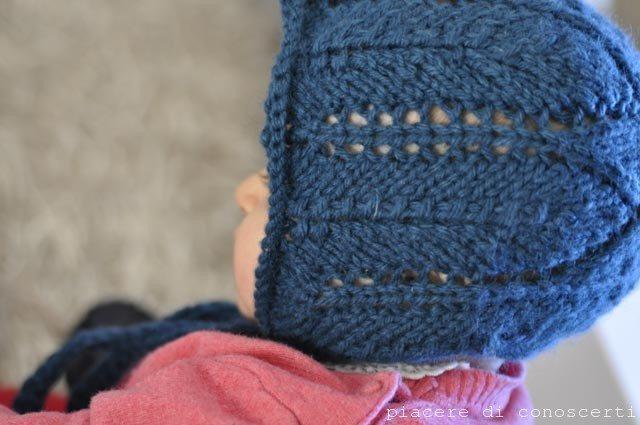 Cuffia e sciarpa bebè