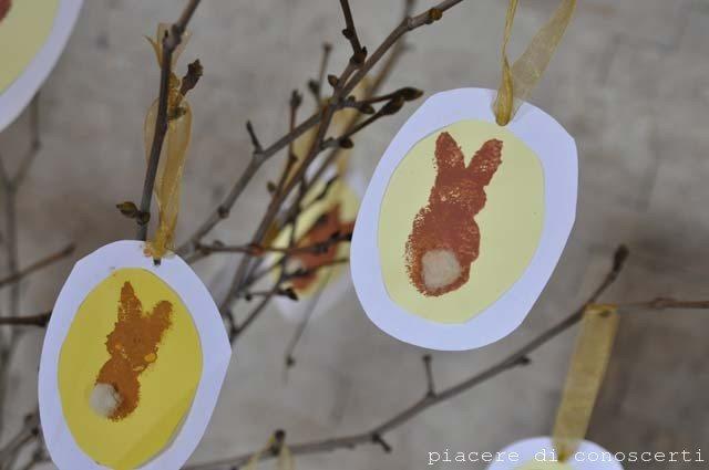 decorazione pasqua bambini