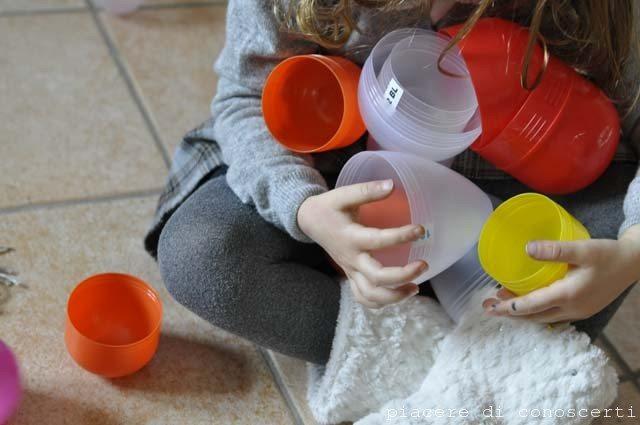 riciclo plastica uova di pasqua