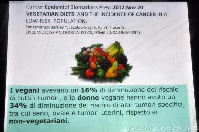 alimentazione vegan conferenza roma