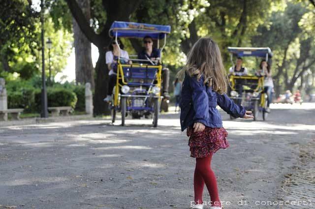 visitare roma, villa borghese