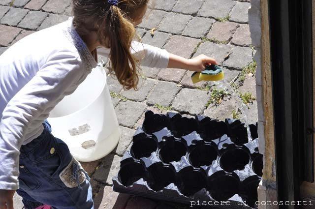 riciclo creativo bambini