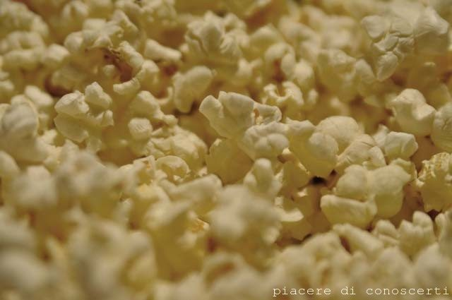 condimento olio e sale pop corn