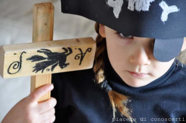 Da fatina a pirata