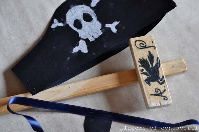 spada in legno bambini