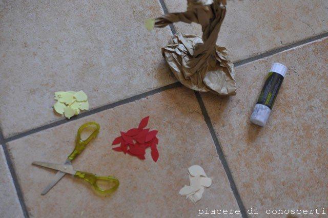 lavoretto autunno bambini carta