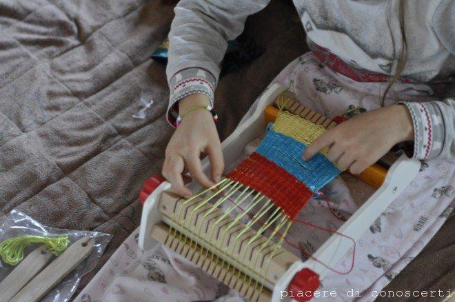 telaio legno per bambini