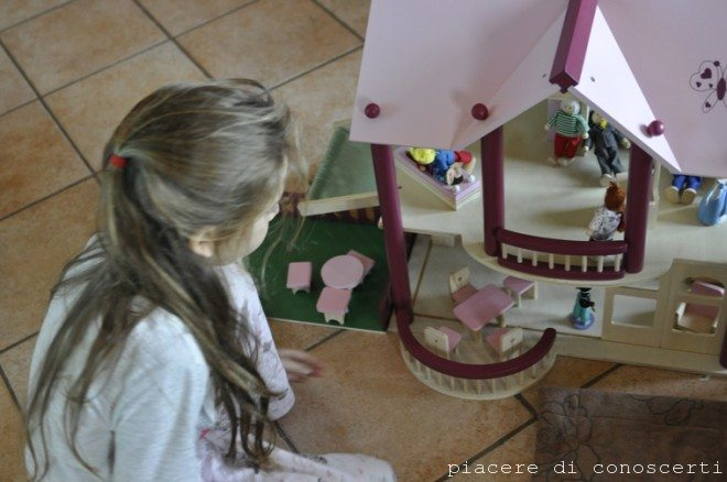 casetta legno babbo natale