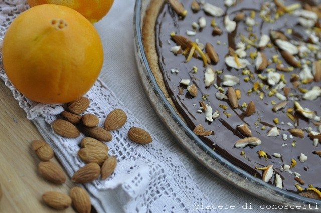 torta light veg cioccolata e arancio senza latte nè uova