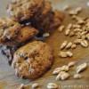 Biscotti al farro soffiato e cioccolato