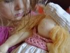 Bambola di pezza Waldorf