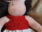 vestitino di filo bambola waldorf