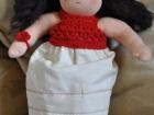 vestitino di filo bambola steineriana