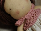 occhi e bocca bambola waldorf