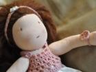 cerchietto bambola waldorf