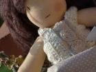 bambola cucita a mano steiner