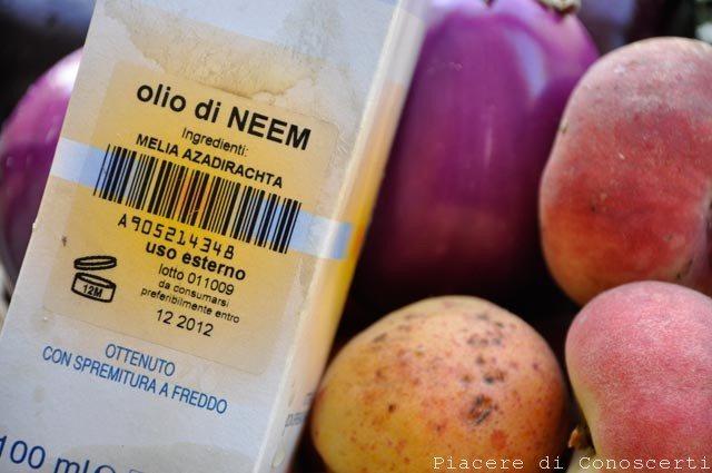 olio di neem orto