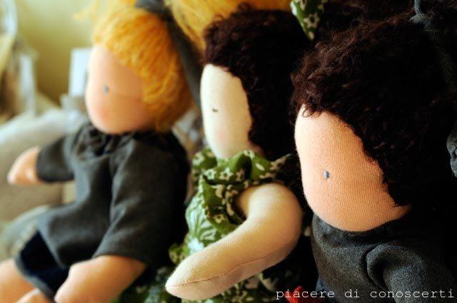 Le mie bambole al negozio!!!