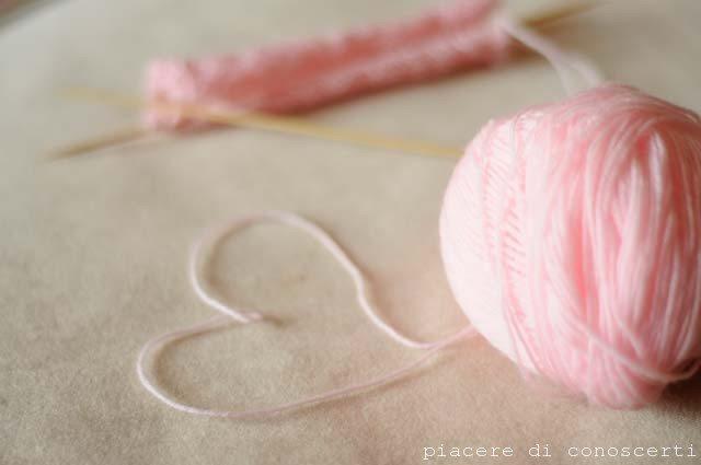 lavori a maglia per neonati