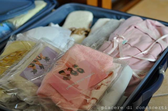 valigia ospedale parto