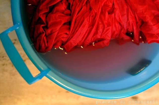 Il primo lavaggio