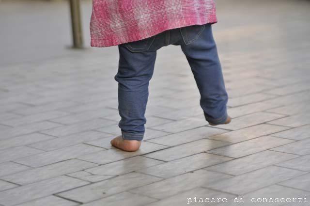 imparare a camminare