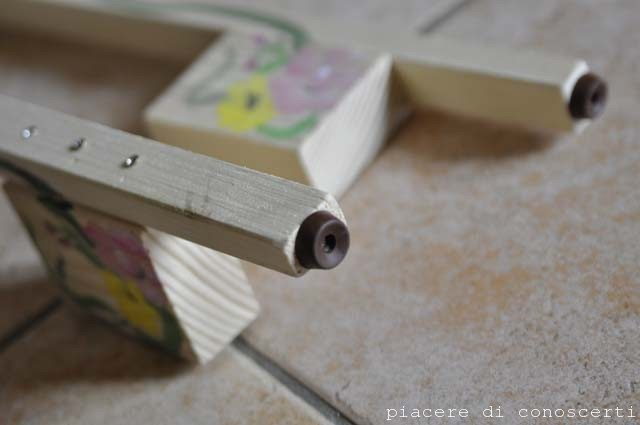 creare trampoli bambini in legno