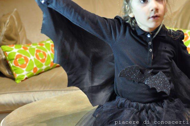 vestito da pipistrello per halloween
